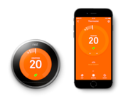 Nest Thermostat and Smartphone App